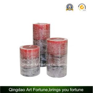 Metallische geprägte Pfosten-Kerze für Hauptdekoration