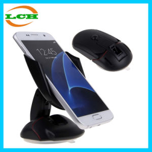 Montaje en el coche de forma de ratón soporte para teléfono