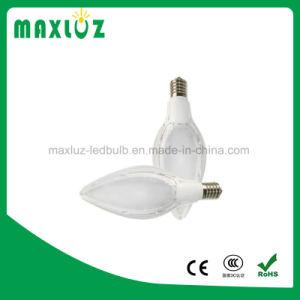 Ângulo de feixe de 300 Azeite em alumínio de plástico e27 LED Base Cornlight
