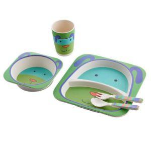 Sans BPA Eco Fibre de bambou Kids Dîner (YK-KS001)