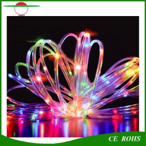 Solarzeichenkette beleuchtet 33FT 100 LED-kupferne Drahtseil-sternenklare Ambiente-Beleuchtung für Weihnachtsim freienpatio-Garten-Ausgangspartei-Feiertags-Hochzeits-Dekoration