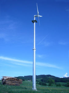 De Turbine van de wind voor het Gebruik van de Familie (5KW)