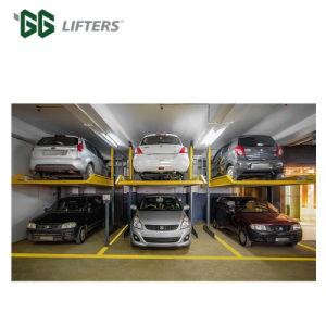 中国2のポストガレージのための油圧車の駐車上昇