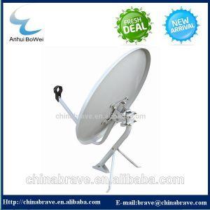 Banda KU 60cm antena parabólica para banda Ku LNB