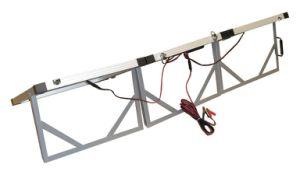 Складные 200W Складная солнечная панель портативного с 10м кабель для жилого прицепа