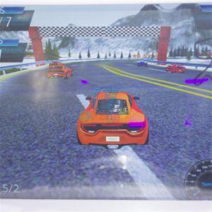 Het muntstuk In werking gestelde Spel van het Ras van de Auto van de Spelen van de Arcade van de Machines van Jonge geitjes