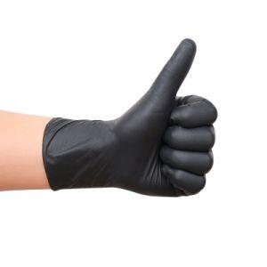 경제 니트릴 장갑 화학제품 및 기계적인 저항 오르 그립