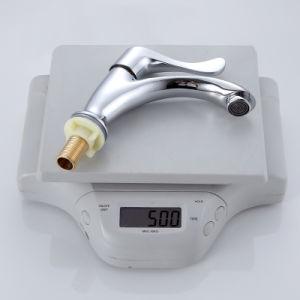 Fabricante China sanitarias Venus solo manejar el agua fría la cara de la vanidad de Zinc Grifo lavabo Lavabo grifo