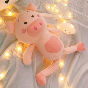 Fornitore del giocattolo farcito bambola Piggy dentellare molle