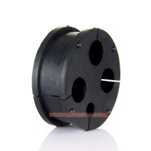 Gummi geformte Tülle für elektrisches Kabel
