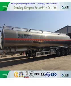[شنغرون] صاحب مصنع إمداد تموين [50كبم] 3 محور العجلة [ألومينوم لّوي] وقود ناقلة نفط [سمي] مقطورة