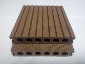 UV e Waterproof Anti- Wood Plastic Composite Decking WPC Flooring