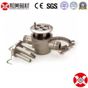 De vloeibare Materiële Separator van de Filter van de Magneet van het Type van Pit Permanente Magnetische