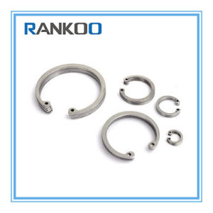Anello di conservazione dell'acciaio inossidabile per i fori DIN472j