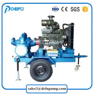 Muebles de 4 cilindros del motor Diesel Bomba de agua de riego