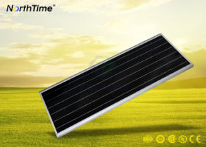 Sensor PIR todo-en-Uno LED lámpara solar de la calle con los certificados CE/RoHS