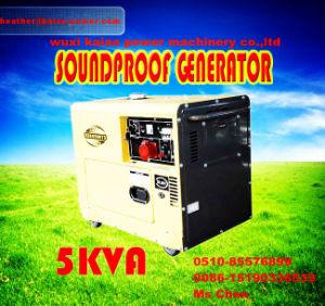 Goede Kwaliteit! ! ! Draagbare 5kw Diesel Generator met ATS, Digitanl Panel