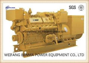 Gruppo elettrogeno diesel marino del Cummins Engine con l'alternatore di Stamford