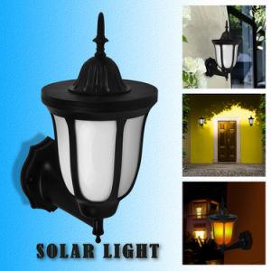 Stützkundenbezogenheit und freie Verkabelungs-Solarflamme-Yard-Wand-Licht