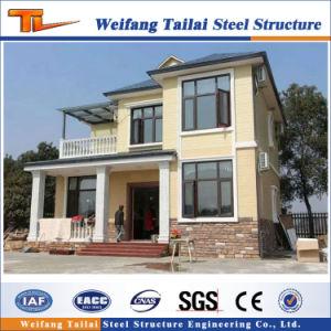 La estructura de acero de calibre de la luz de la construcción de casas pasivas