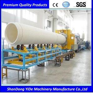 PVC/PE/PP Tubo ondulado de doble pared de la máquina extrusora