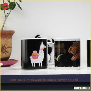 Lege Ceramische Mokken voor Groothandelsprijzen van de Koppen van de Kleur van de Koffie van de Douane van de Sublimatie de Promotie Magische Veranderende