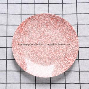 Hot Vente de plaques de porcelaine de nouvelle conception du restaurant