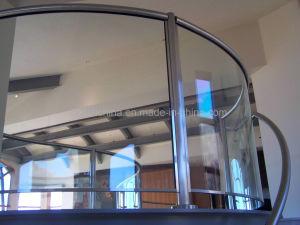 [لمينت غلسّ] يعزل زجاج يليّن يقسم أمان بناية زجاج لأنّ [ويندووس] أبواب [فنس ريل] أرضية [كرتين ولّ]