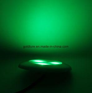 Piso Piscina Jacuzzi RGB LED Lámpara 9W llenos de resina