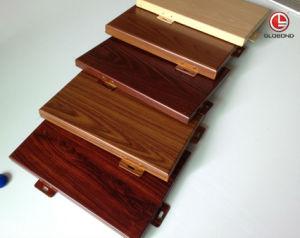 Имитация Globond деревянные панели из алюминия с ISO, CE, SGS (GL-014)