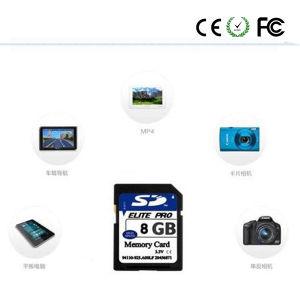 OEM 8 Go haute vitesse 16 Go Appareil photo numérique de 32 Go Carte SD (classe 10)
