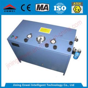 Ae102une pompe de remplissage de gaz d'oxygène pour l'utilisation du vérin Self-Rescuer