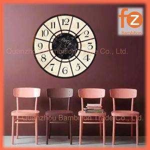 Caliente la venta de varios estilos innovadores comercio al por mayor Reloj de pared Pared Vintage Antiguo reloj redondo de madera para la decoración del hogar016006-89 Fz.
