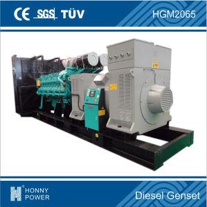 Gruppo elettrogeno diesel di potere 1500kw/1875kVA del contenitore di Honny