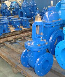 BS3464 métal Vanne assis PN10/Fonte ductile