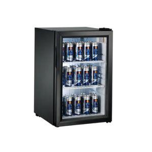 68L Mini frigorífico refrigerador de Exibição de Bebidas