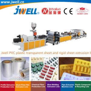 Jwell-PVC transparente Folha macio e placa de decoração de PVC máquina de extrusão de máquinas
