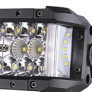 IP69K de 21,5'' Leastest Shooter lateral doble de la barra de luz LED SUV Jeep ATV Offroad