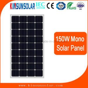 Mono de alta eficiencia de 150W panel solar