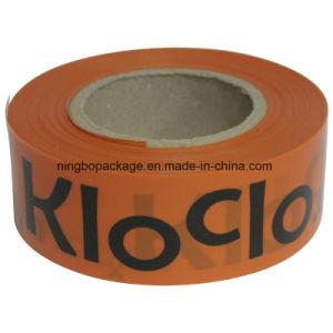 De normale Band van de Voorzichtigheid met Band 3 van de Waarschuwing van de Verpakking van de Doos  X1000'x30mic