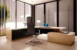 La moderna oficina Muebles de oficina Excutive Tabla de la Oficina en forma de L