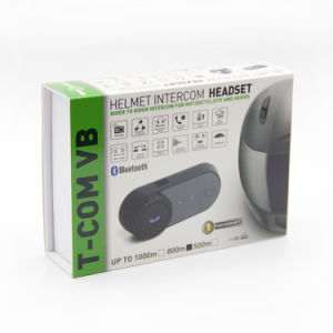 FM Bluetooth Interphone van de Helm van de motorfiets fdc-02vb de Draadloze Handsfree/de Hoofdtelefoon van de Intercom