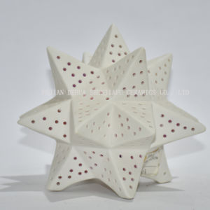 Многофункциональный керамический подсвечник, домашнее украшение/настоящий момент рождества