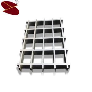 75*75mm Certificat ISO Meilleur site Web de gros de plafond de la grille en aluminium