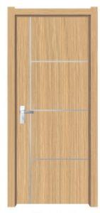 La puerta de MDF no pintadas con PVC &Material MDF de alta calidad
