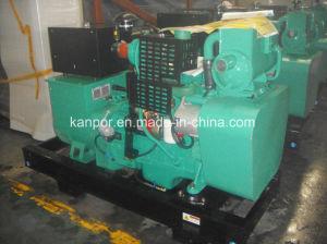 100kw/125kVA gerador diesel Auxiliar Marinhos Cummins