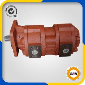 Bomba de engranaje hidráulica del duplex excelente de la calidad para el excavador de la niveladora (CBGJ1032/1032)