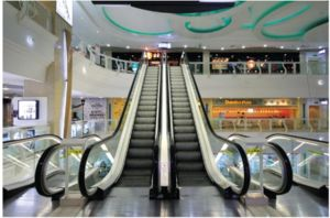30/35 градусов коммерческих пассажирских эскалатора перемещение в нескольких минутах ходьбы от торгового центра по