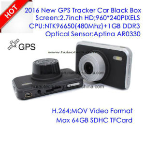 ルート、5.0megaソニーImx Exmorの夜間視界のカメラ、車のデジタルビデオレコーダーDVR-2709を追跡するGPSの新しい社内デザイン2.7inch車のダッシュのカメラDVR