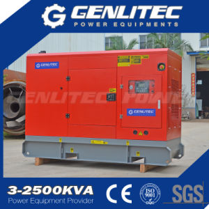 Три фазы переменного тока типа выходного напряжения 25 ква генератор дизельного двигателя Cummins